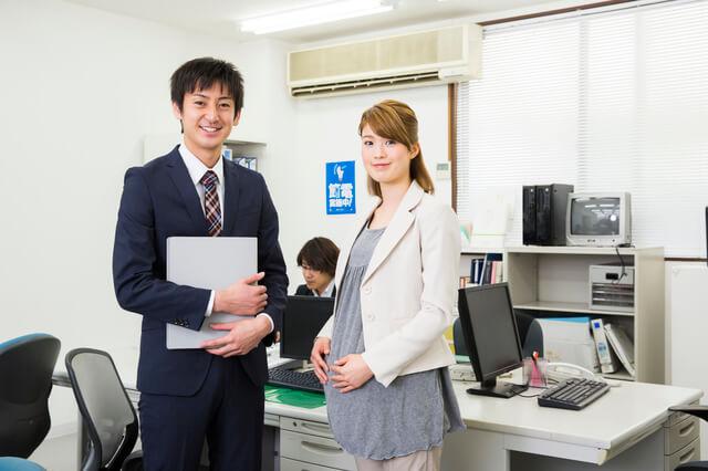 妊婦と職場の上司,妊娠初期,立ち仕事,