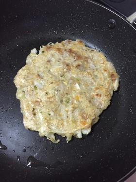 離乳食☆卵なしお好み焼き,離乳食,お好み焼き,