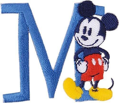 パイオニア アルファベット ワッペン ディズニー ミッキーマウス MY4001-MY311,手作り,お守り,