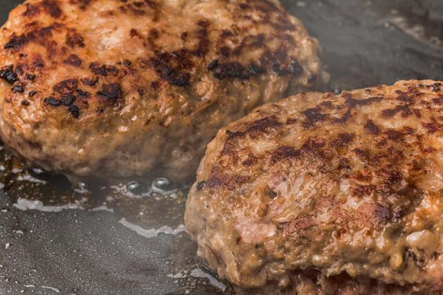 家庭で作るハンバーグ,お弁当,ハンバーグ,