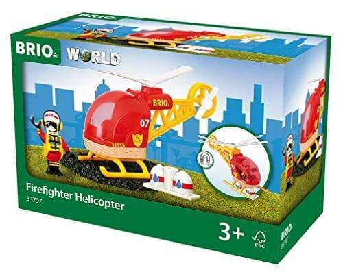 BRIO レスキューヘリコプター 33797,ヘリコプター,おもちゃ,