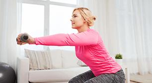 運動する女性,骨盤,ダイエット,