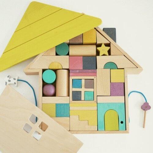 tsumiki(積み木)木の玩具 ドイツ gg kiko,積み木,