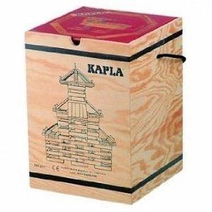 積木・カプラ カプラ280(白木)+デザインブック(中級・赤)>木箱入り 【並行輸入品】,積み木,