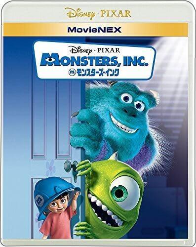 モンスターズ・インク MovieNEX [ブルーレイ+DVD+デジタルコピー(クラウド対応)+MovieNEXワールド] [Blu-ray],ピクサー,DVD,