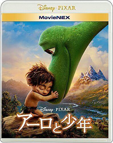 アーロと少年 MovieNEX [ブルーレイ+DVD+デジタルコピー(クラウド対応)+MovieNEXワールド] [Blu-ray],ピクサー,DVD,