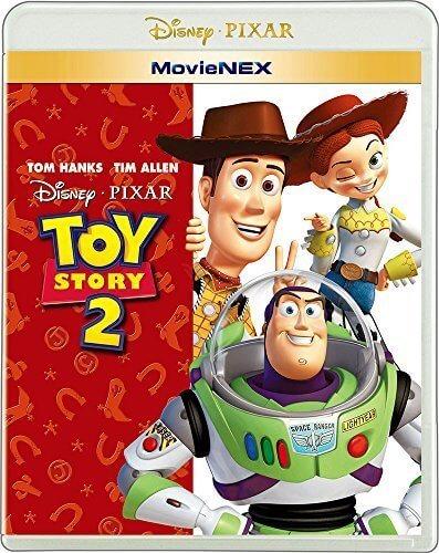 トイ・ストーリー2 MovieNEX [ブルーレイ+DVD+デジタルコピー(クラウド対応)+MovieNEXワールド] [Blu-ray],トイ・ストーリー,DVD,