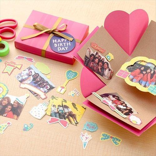 SURPRISE FACTORY SURPRISE BOX ALBUM YELLOW SAL-01,手作り,アルバム,