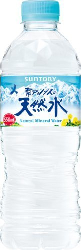 サントリー 南アルプスの天然水 550ml×24本 ナチュラルミネラルウォーター,赤ちゃん,ミネラルウォーター,