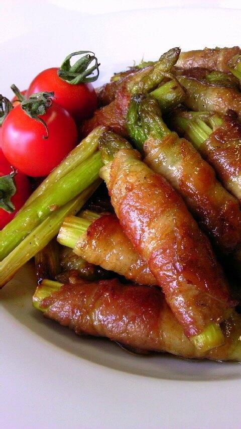 豚バラとアスパラの肉巻き,お弁当,アスパラ,