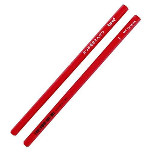 トンボ鉛筆 ippo! 丸つけ用赤えんぴつ BCA-260 2本入,小学校  ,入学準備  ,文房具