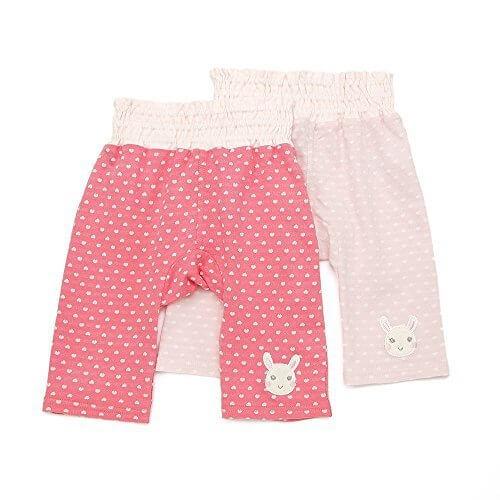 coeur a coeur(クーラクール) ハーフ丈パンツ (70~90cm) キムラタンの子供服 (44120-161b) ピンク90,モンキー,パンツ,