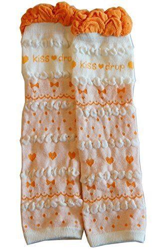 ベビーレッグウォーマー オレンジ|shop5858(babylegwarmer),赤ちゃん,レッグウォーマー,