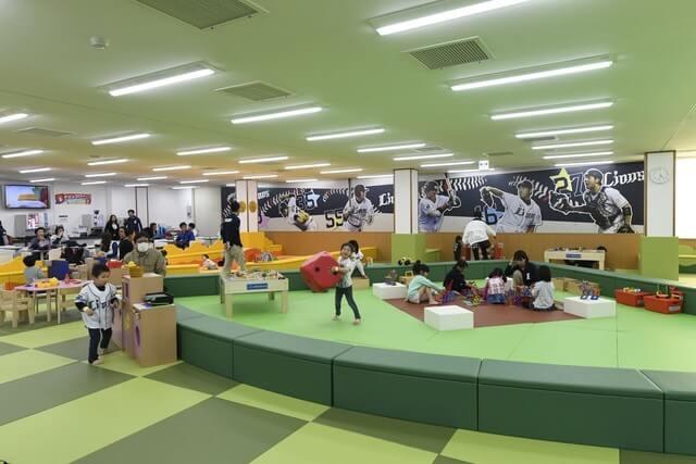こども応援プロジェクト 西武 野球 ライオンズキッズパーク プレイグラウンド,おでかけ,体験,