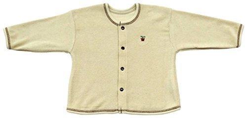 ベビーストーリー オーガニックコットン パイルカーディガン 50~70cm NO90200 日本製,赤ちゃん,カーディガン,