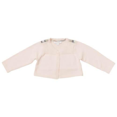 [バーバリーベビー] BURBERRY BABY ベビー服 長袖ニット カーディガン B95553PK 18Mサイズ,赤ちゃん,カーディガン,