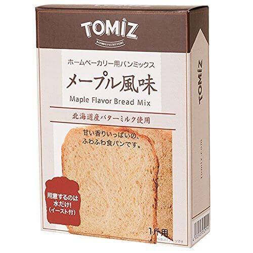 メープル風味食パンミックス / 1斤用(253g) TOMIZ(富澤商店) パン用ミックス粉 HBミックス粉,富澤商店,オンライン,