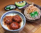 蕎麦とソースカツ丼のセット,福井駅,ランチ,