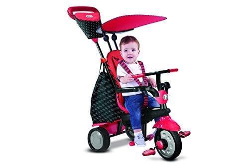 2015年モデル スマートトライク グロー Smart Trike glow 三輪車 (レッド),1歳の誕生日,プレゼント,飾りつけ