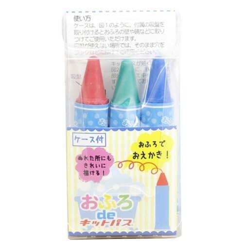 日本理化学 おふろdeキットパス 3色 KF-1,1歳,おもちゃ,男の子