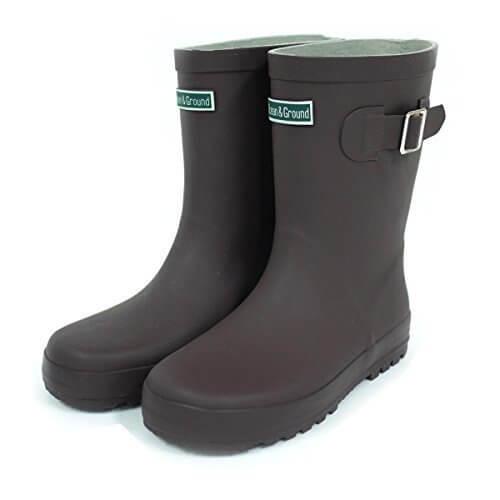 (ocean&ground)オーシャン&グラウンド キッズ 長靴 17cm BR,キッズ,長靴,