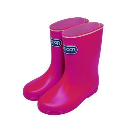 [アウトドアプロダクツ] OUTDOOR PRODUCTS キッズ レインブーツ UK01013PK-OD PK (ピンク/13cm),キッズ,長靴,