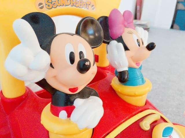 ミッキーとミニーのおもちゃ,ディズニー,おもちゃ,