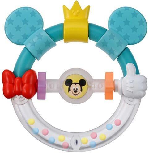 ディズニー Dear Little Hands おしゃぶりラトル ミッキー&ミニー,ディズニー,おもちゃ,