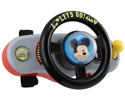 ディズニー はじめて英語 ミッキーマウス おでかけサウンドハンドル,ディズニー,おもちゃ,