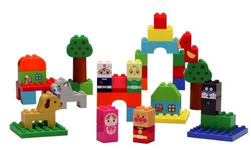 ブロックラボ アンパンマン はじめてのブロックバケツL(ファーストブロックシリーズ),知育玩具,2歳,