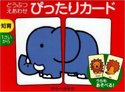 ぴったりカード,知育カード,フラッシュカード,幼児