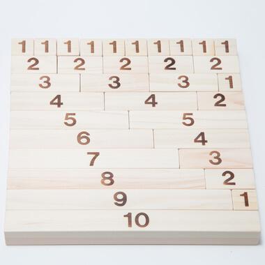かずつみ木 │木遊舎,知育玩具,数字,おすすめ