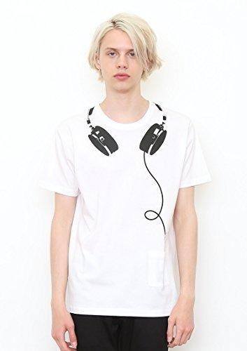 (グラニフ)graniph ミュージック半袖Tシャツ / マイミュージック ( ホワイト ) S,リンクコーデ,