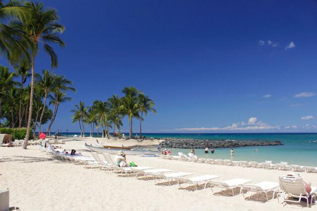 ハワイ島のビーチ,子連れ,海外旅行,