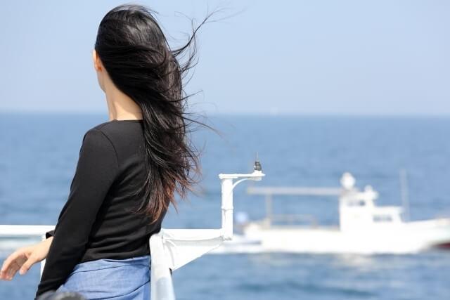 海を見ている人,おしゃピク,
