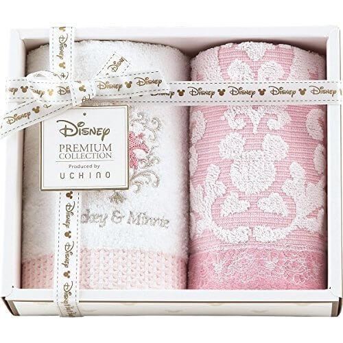 ディズニー プレミアム ゲストタオル 2枚セット ピンク 快気祝 内祝 出産内祝‥,内祝い,ディズニー,