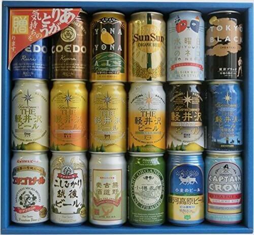 クラフトビール (地ビール) 缶ビール 飲み比べ ギフト セット (18種18本),内祝い,ビール,