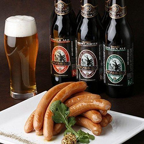 【日本一ウインナー&金賞ビールA (2-3人向)】 世界3位の職人が作るウインナーと、国際大会金メダルビール,内祝い,ビール,