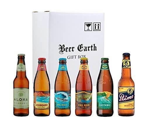 ハワイのビール飲み比べ6本セット【コナビール4種類、アロハビール、プリモビール】厳選6種類★専用ギフトボックスでお届け,内祝い,ビール,