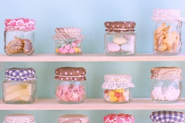 お菓子の瓶,内祝い,お菓子,