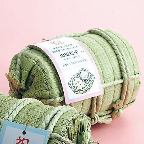 生まれた重さのお米 俵入(お名入れ),内祝い,お米,