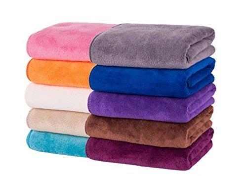 家中のタオルが高級ホテル並みに! 美容サロンも使用 大判タオル 10枚セット 35×75cmサイズ 毎日使うものだからいいものを 赤ちゃんの柔肌にもぴったり♪ [並行輸入品],内祝い,タオル,