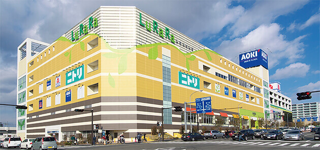 ルララこうほく,ショッピング,モール,神奈川