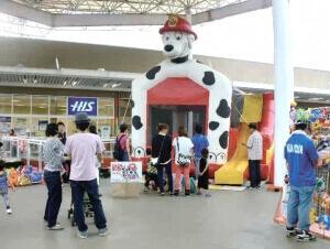 MrMax 湘南藤沢店のこども縁日&ふわふわドーム,ショッピング,モール,神奈川