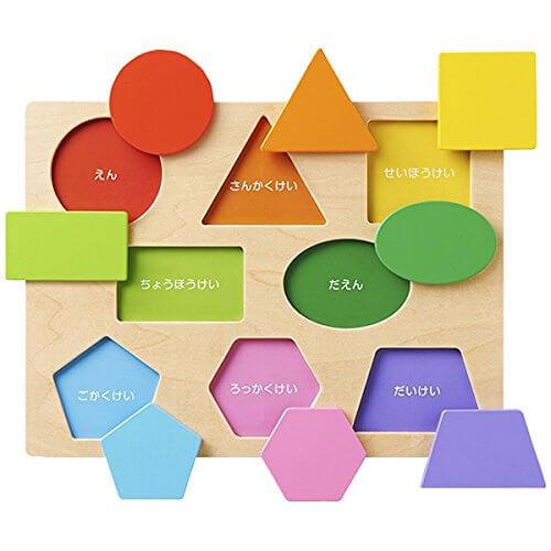 Ed.inter(エド・インター) 木製パズル 色・形あそび【812303】,子ども,パズル,