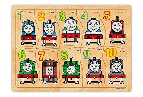 トーマス木製パズル すうじであそぼう! TWT-003,子ども,パズル,