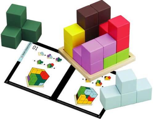 賢人パズル,知育,立体パズル,おもちゃ