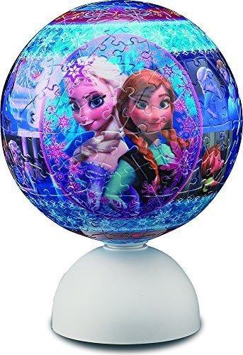 240ピース 3D球体パズル スターライトパズル・シリーズ アナと雪の女王 スノー・ファンタジー,知育,立体パズル,おもちゃ
