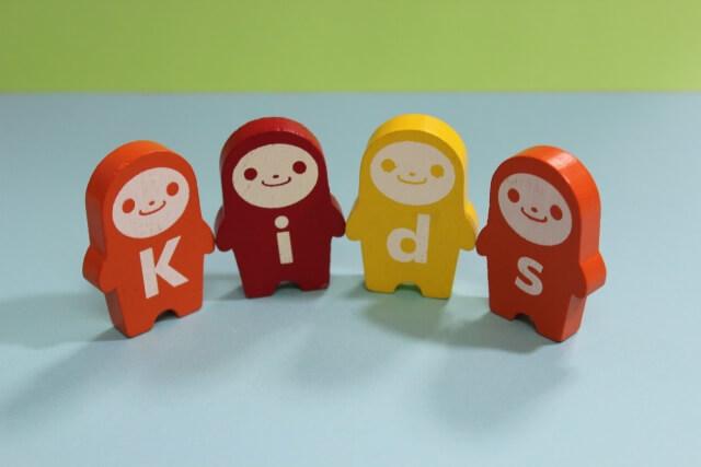 Kidsと書いてあるおもちゃ,数字,おもちゃ,幼児