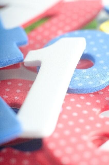 1の数字パネル,数字,おもちゃ,幼児